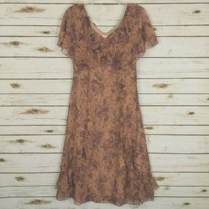 Sundance Floral Silk Midi Dress, 2